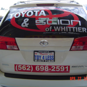 TOYOTA OF WHITTIER