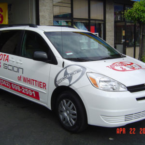 TOYOTA OF WHITTIER TRANSIT