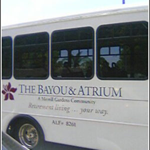 side of bus